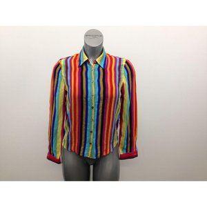 Jones New York Silk Blouse Women's Size 6